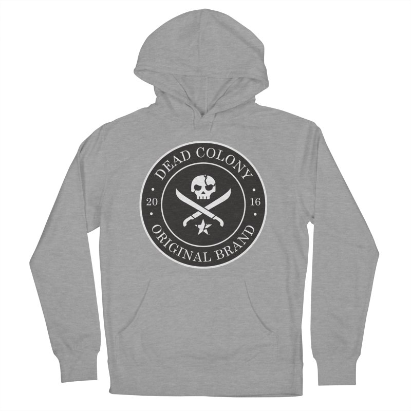 Dead Colony Pirate Seal - Black - DC Men's Pullover Hoody by IRONSAURUS SHOP