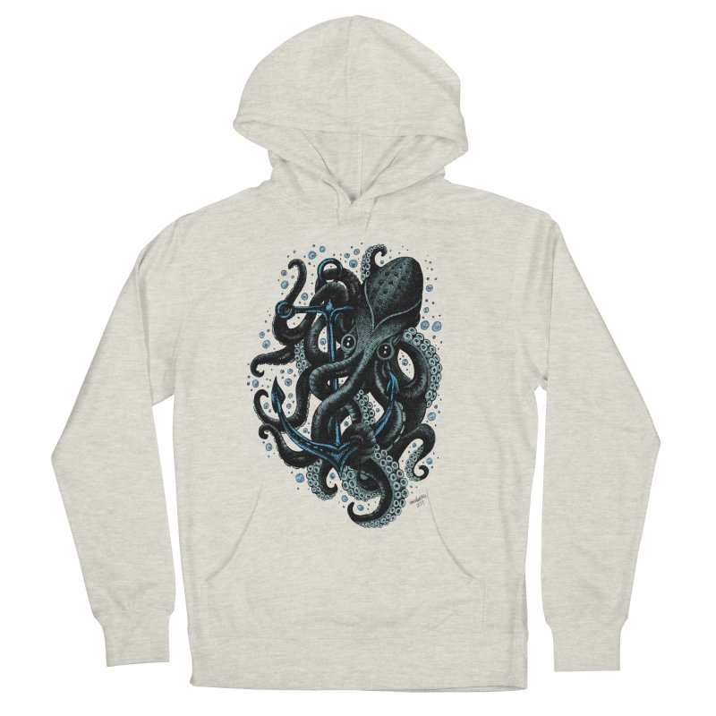 octopus Men's Pullover Hoody by irrthum's Shop