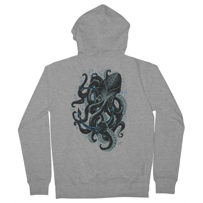 octopus Women's Zip-Up Hoody by irrthum's Shop