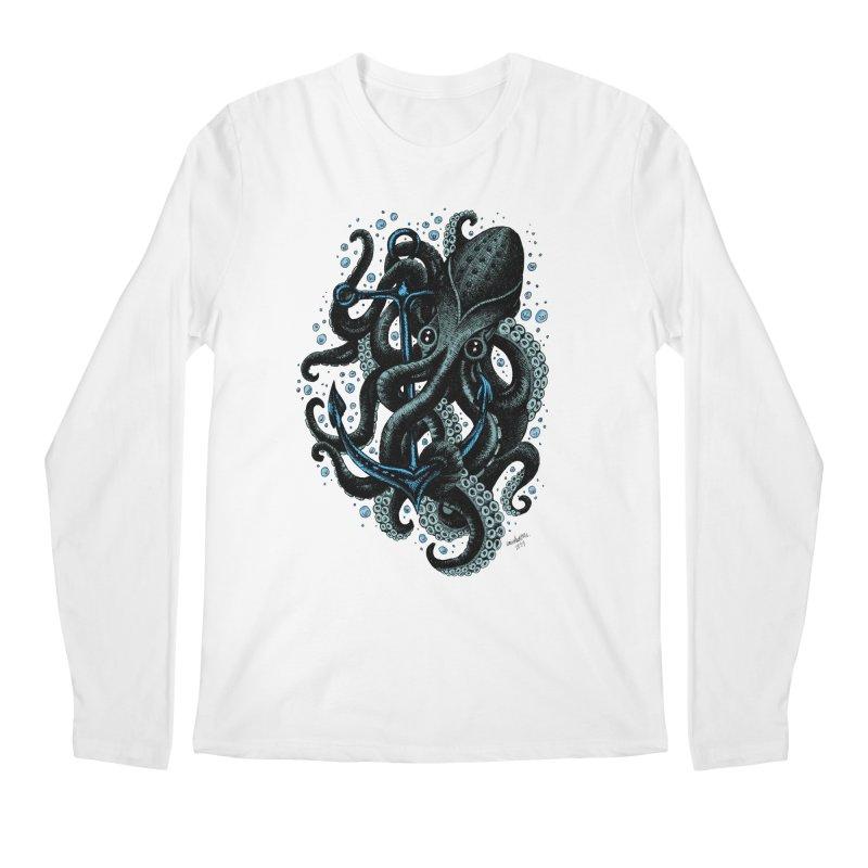 octopus Men's Longsleeve T-Shirt by irrthum's Shop