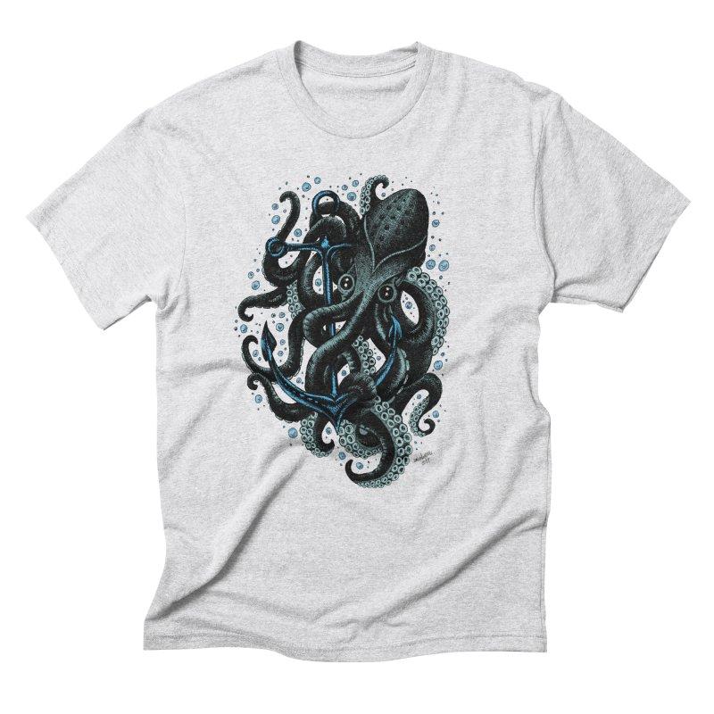 octopus Men's Triblend T-Shirt by irrthum's Shop