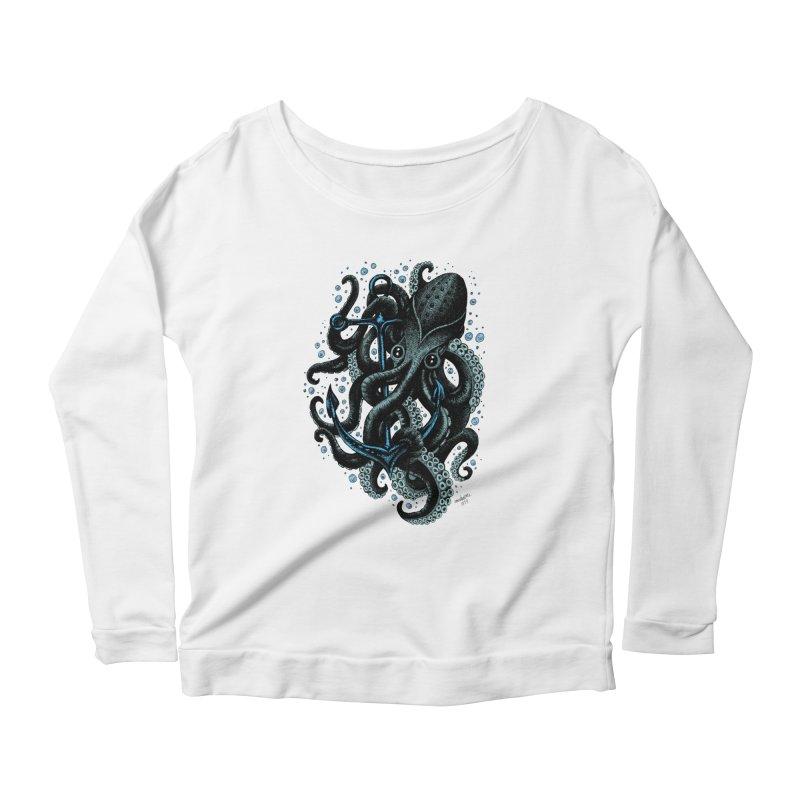 octopus Women's Longsleeve Scoopneck  by irrthum's Shop