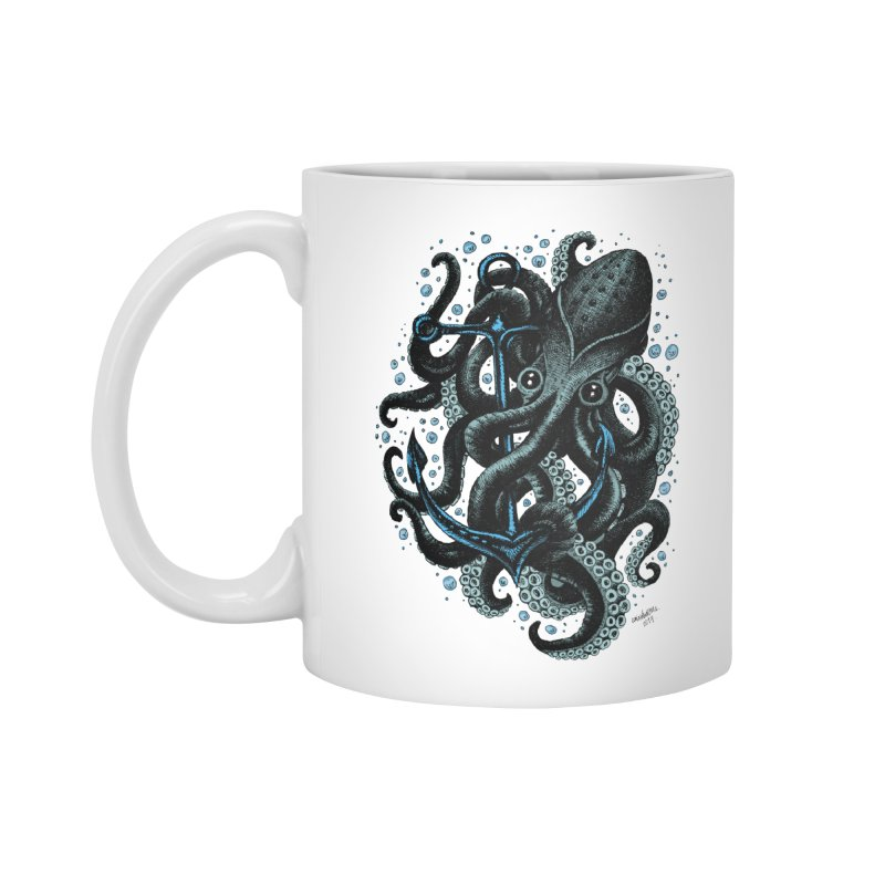 octopus Accessories Mug by irrthum's Shop