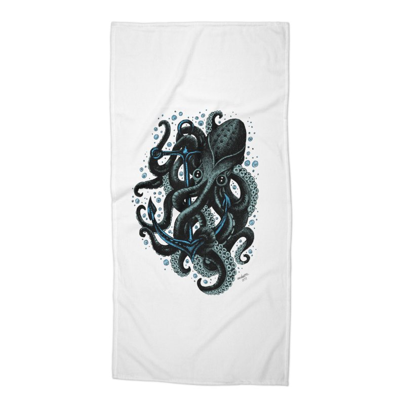 octopus Accessories Beach Towel by irrthum's Shop