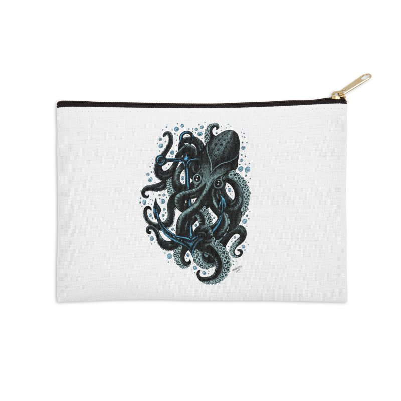 octopus Accessories Zip Pouch by irrthum's Shop