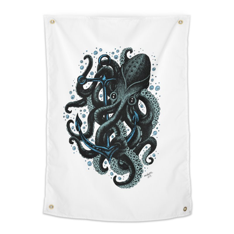 octopus Home Tapestry by irrthum's Shop