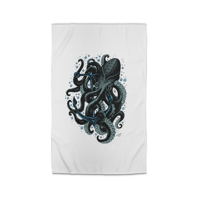 octopus Home Rug by irrthum's Shop