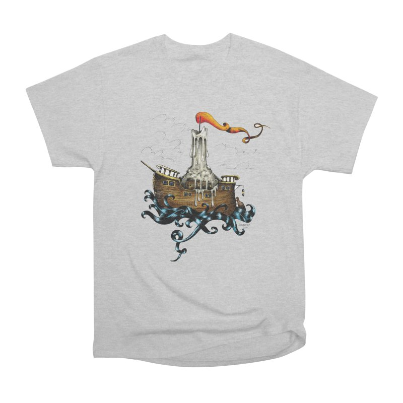 sail boat Men's Classic T-Shirt by irrthum's Shop