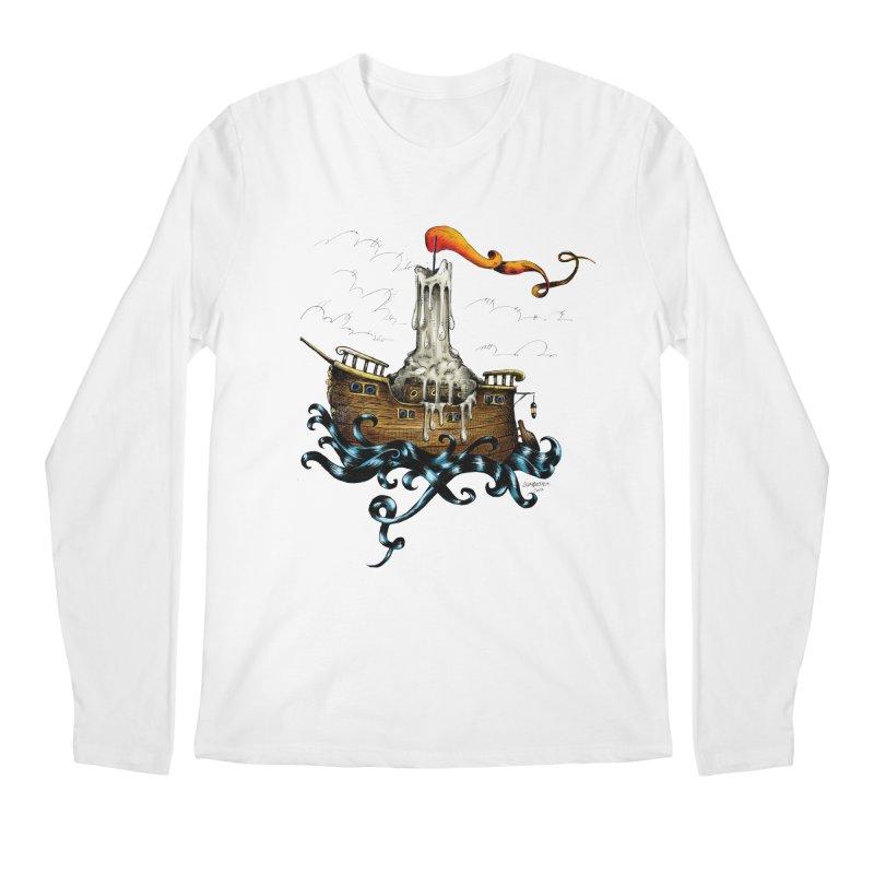 sail boat Men's Longsleeve T-Shirt by irrthum's Shop
