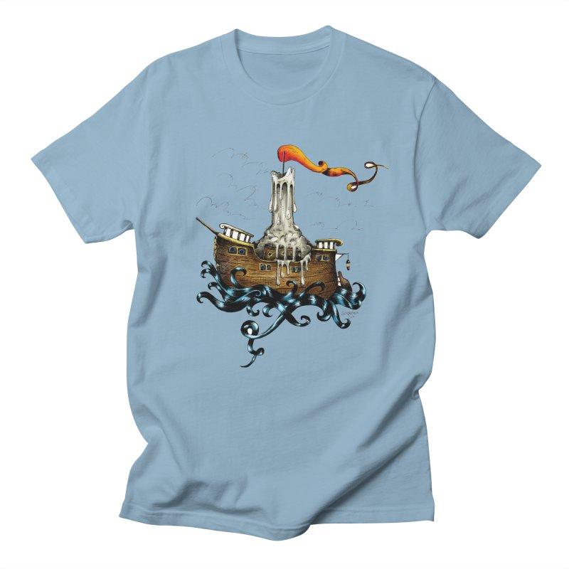 sail boat Men's T-Shirt by irrthum's Shop