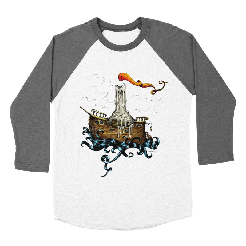 sail boat Women's Baseball Triblend T-Shirt by irrthum's Shop