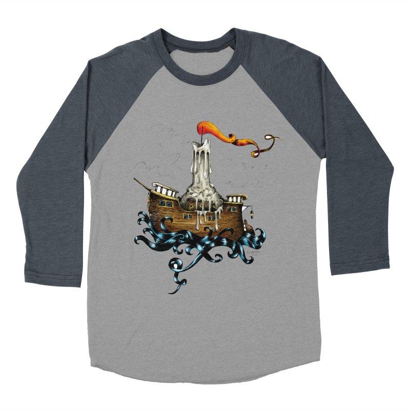 sail boat Men's Baseball Triblend T-Shirt by irrthum's Shop