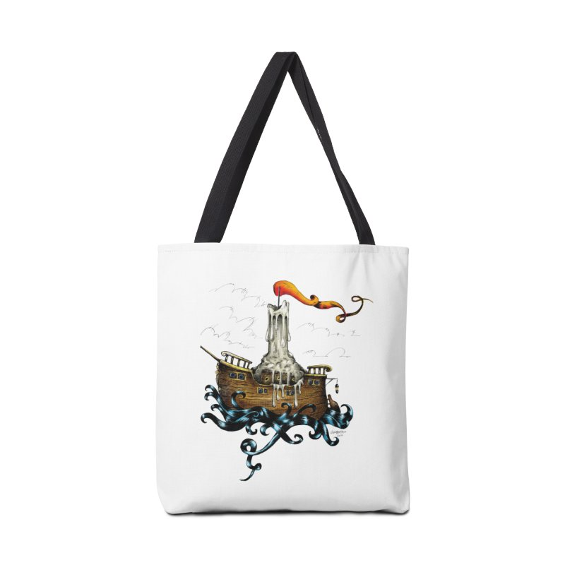 sail boat Accessories Bag by irrthum's Shop