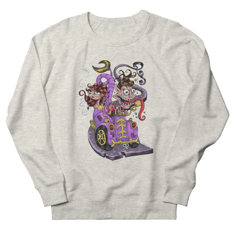 Fish tail car Men's Sweatshirt by irrthum's Shop