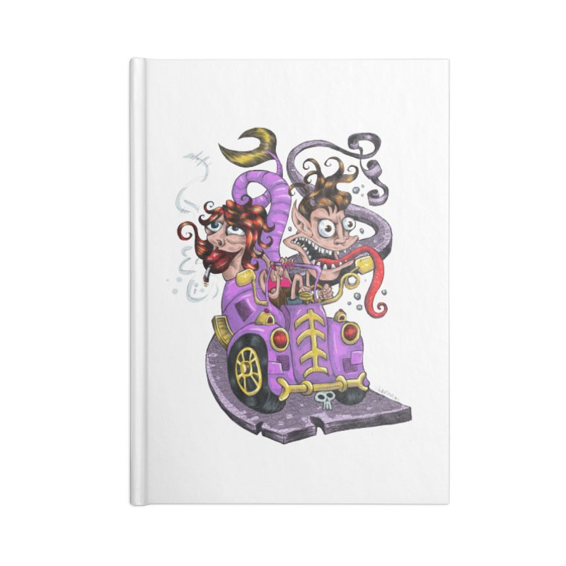 Fish tail car Accessories Notebook by irrthum's Shop