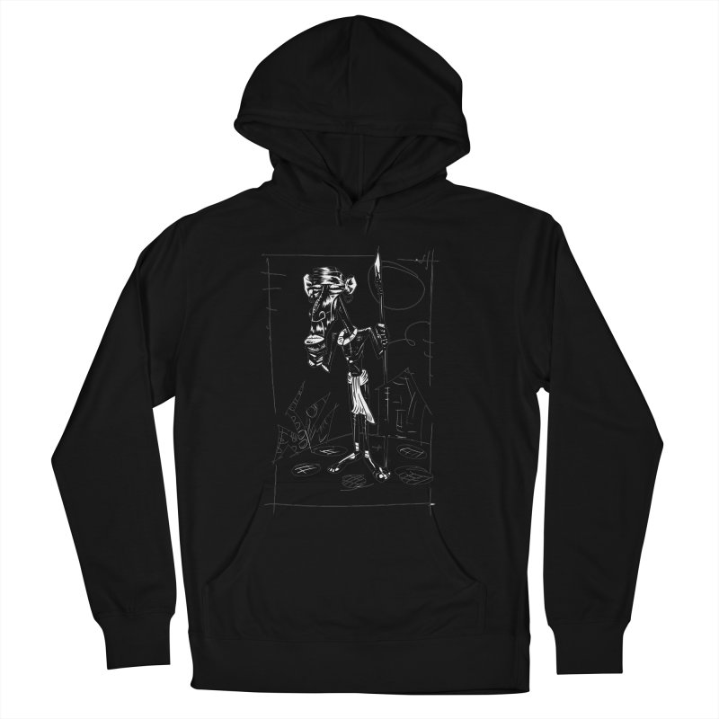 AFRICAN WARRIOR Women's Pullover Hoody by irrthum's Shop
