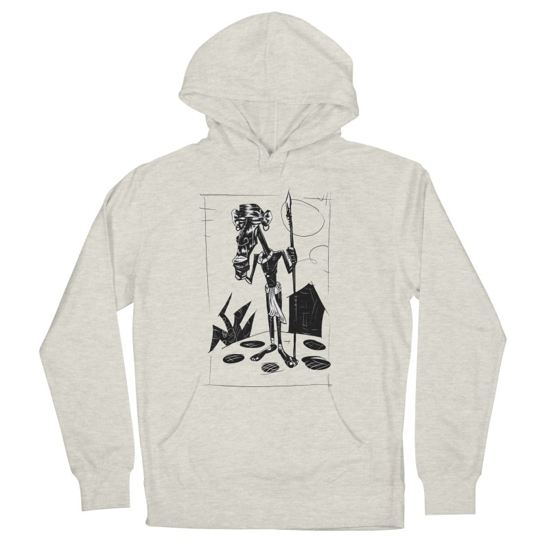 AFRICAN WARRIOR Men's Pullover Hoody by irrthum's Shop