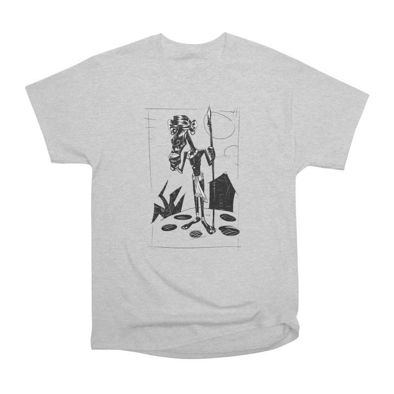 AFRICAN WARRIOR Women's Classic Unisex T-Shirt by irrthum's Shop