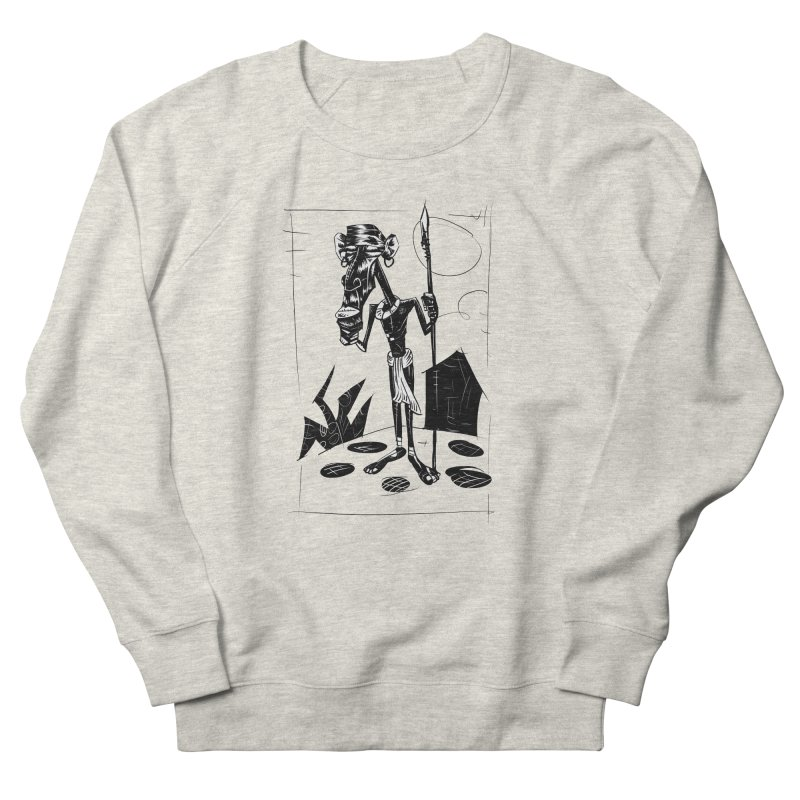 AFRICAN WARRIOR Men's Sweatshirt by irrthum's Shop