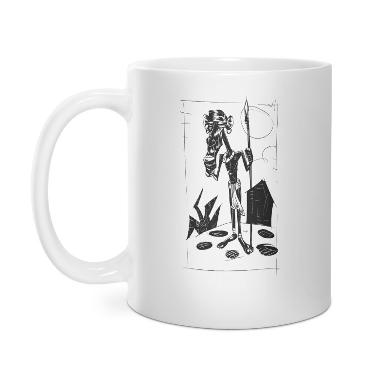 AFRICAN WARRIOR Accessories Mug by irrthum's Shop