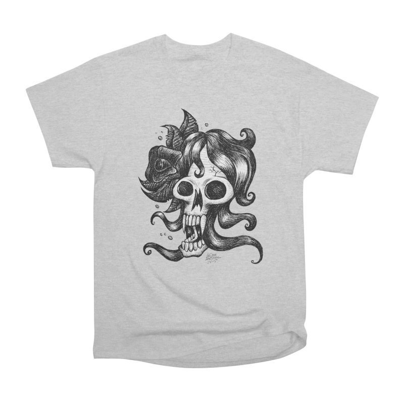 skull woman Women's Classic Unisex T-Shirt by irrthum's Shop