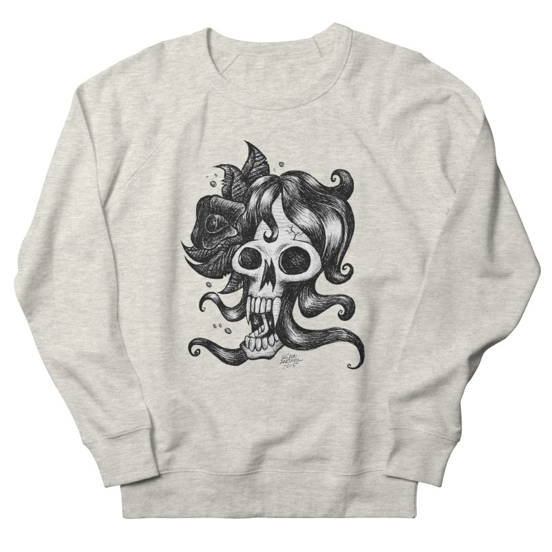 skull woman Women's Sweatshirt by irrthum's Shop