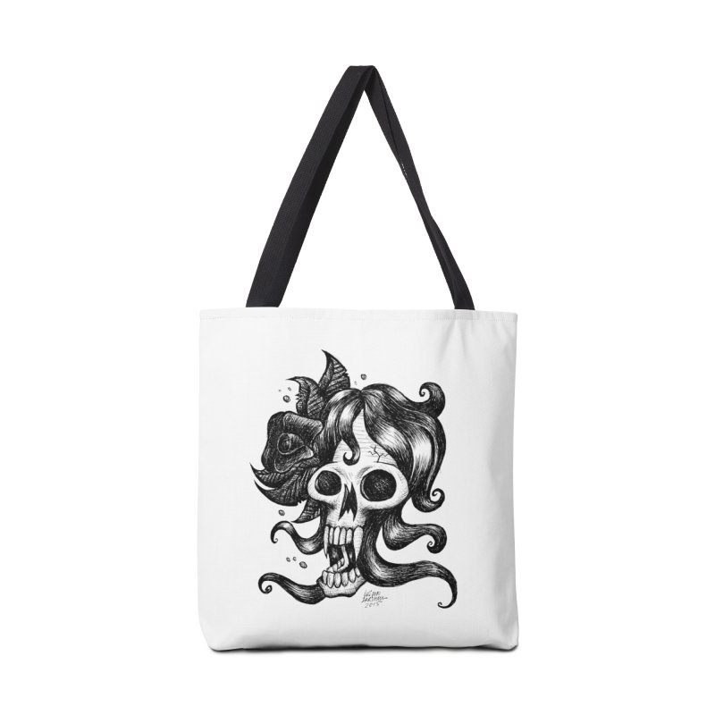 skull woman Accessories Bag by irrthum's Shop