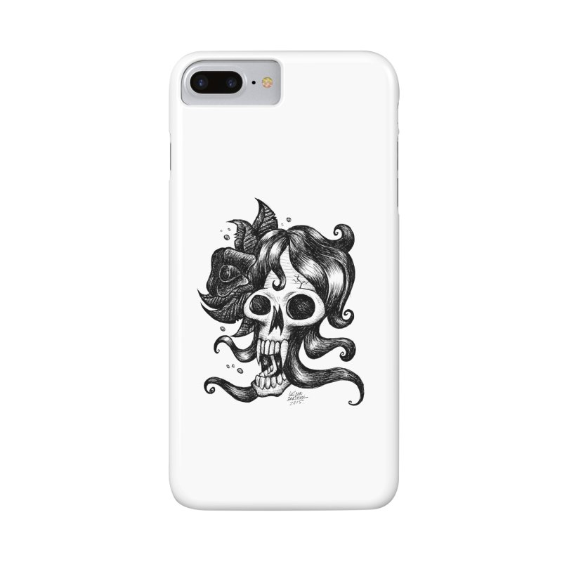 skull woman Accessories Phone Case by irrthum's Shop