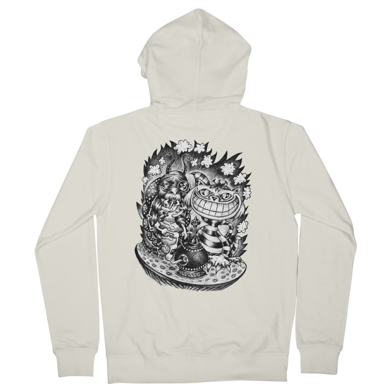cat and friend Men's Zip-Up Hoody by irrthum's Shop
