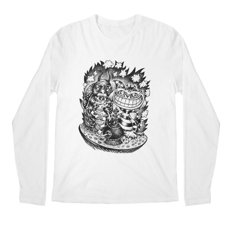 cat and friend Men's Longsleeve T-Shirt by irrthum's Shop