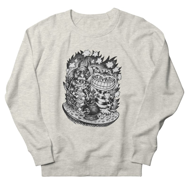 cat and friend Men's Sweatshirt by irrthum's Shop