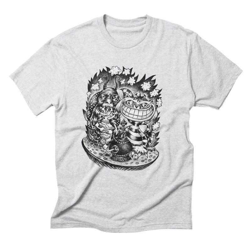 cat and friend Men's Triblend T-Shirt by irrthum's Shop