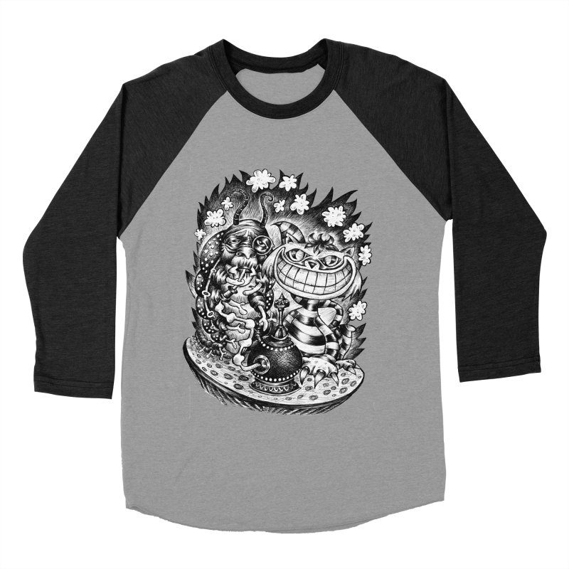 cat and friend Men's Baseball Triblend T-Shirt by irrthum's Shop