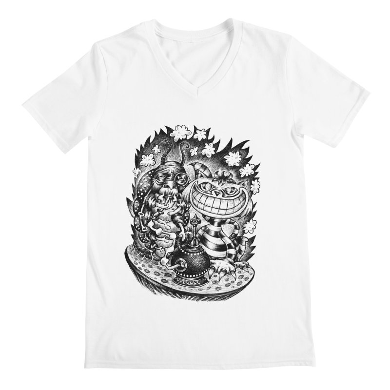 cat and friend Men's V-Neck by irrthum's Shop