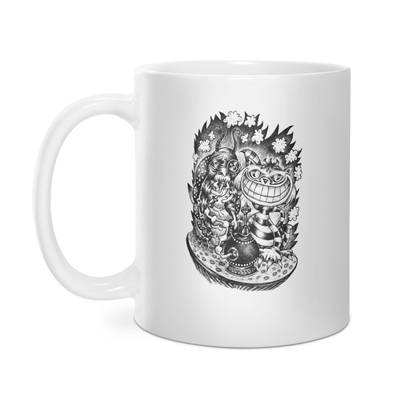 cat and friend Accessories Mug by irrthum's Shop
