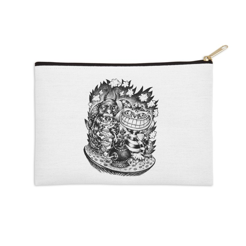 cat and friend Accessories Zip Pouch by irrthum's Shop