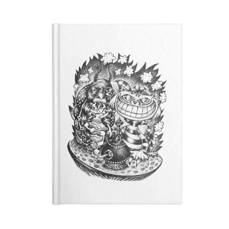 cat and friend Accessories Notebook by irrthum's Shop