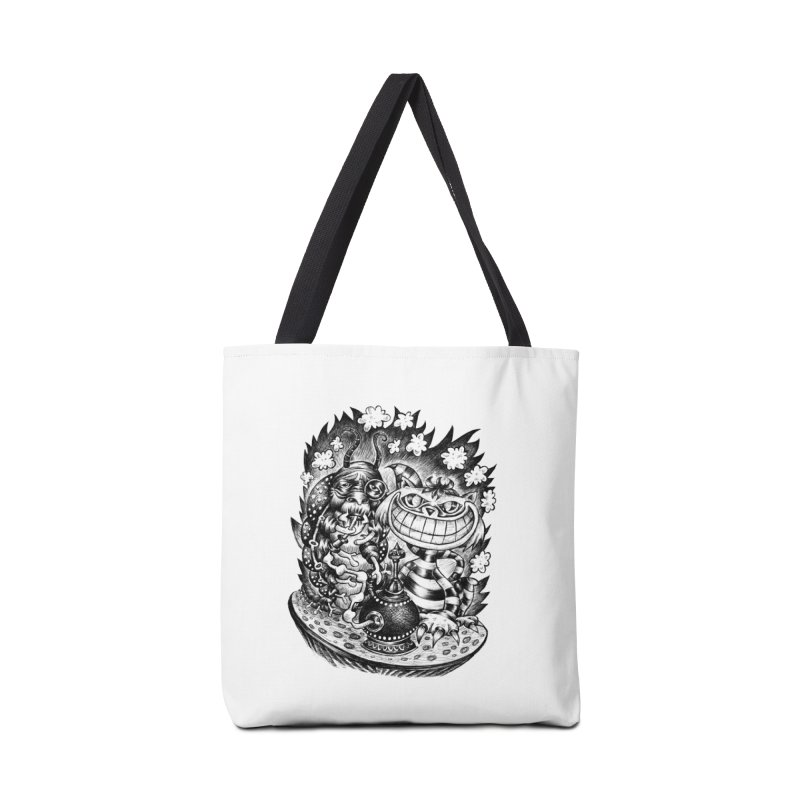 cat and friend Accessories Bag by irrthum's Shop