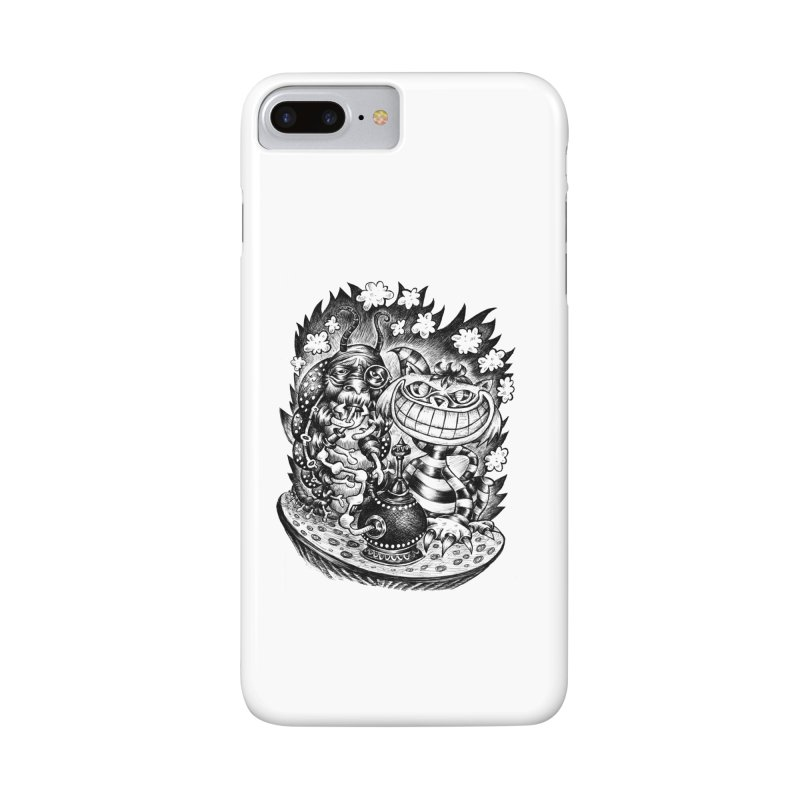 cat and friend Accessories Phone Case by irrthum's Shop