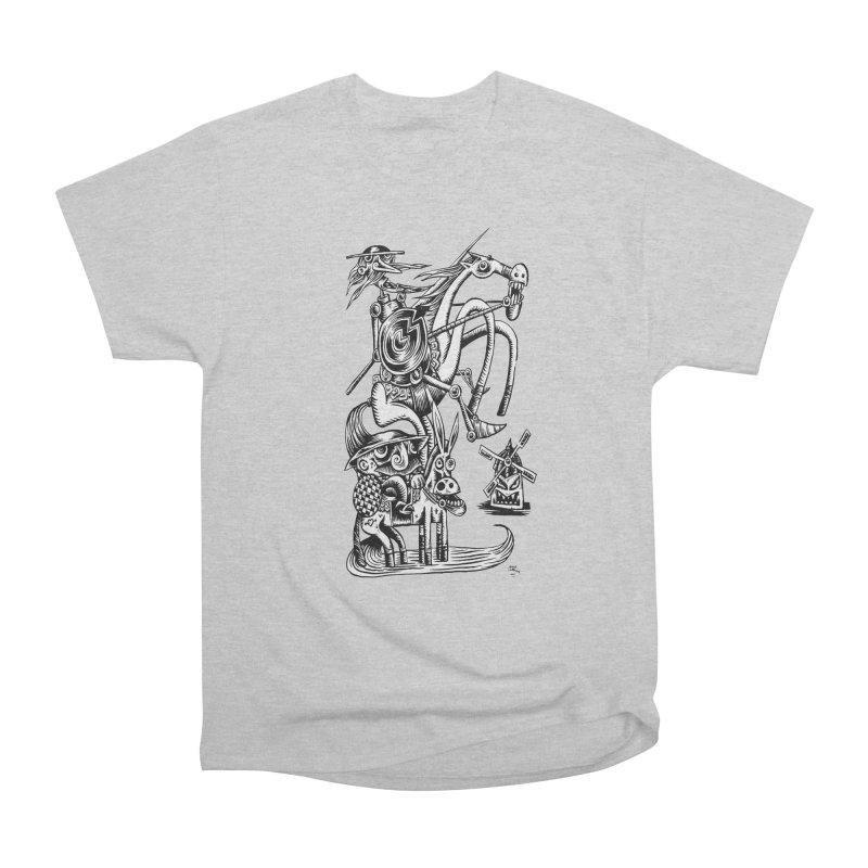 D quixote e sancho Women's Heavyweight Unisex T-Shirt by irrthum's Shop