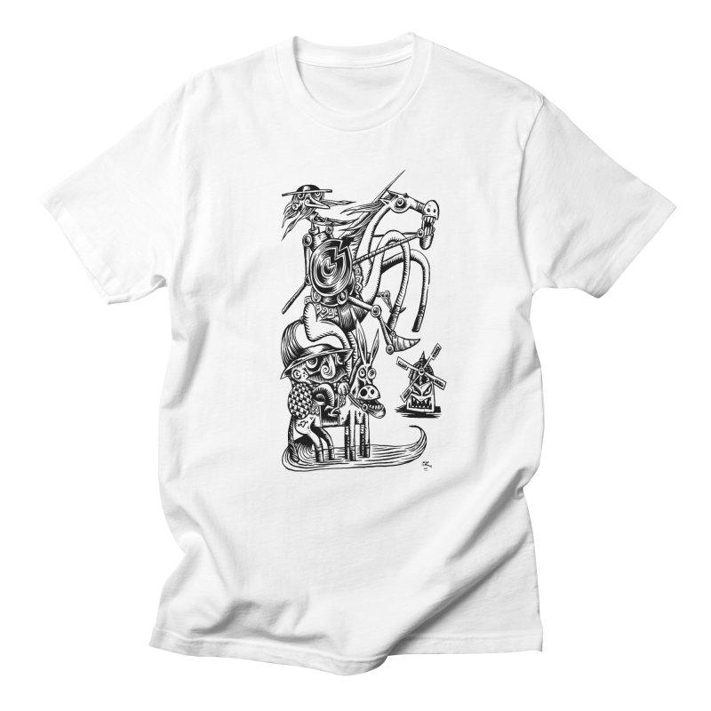 D quixote e sancho Men's T-Shirt by irrthum's Shop