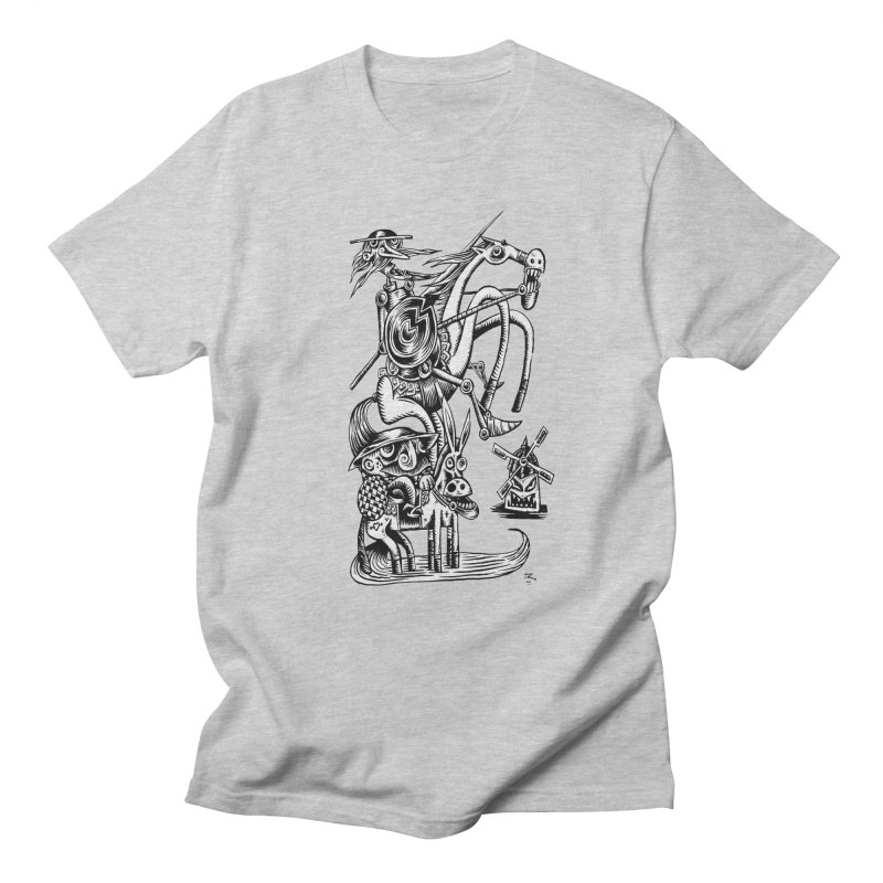 D quixote e sancho Women's Unisex T-Shirt by irrthum's Shop