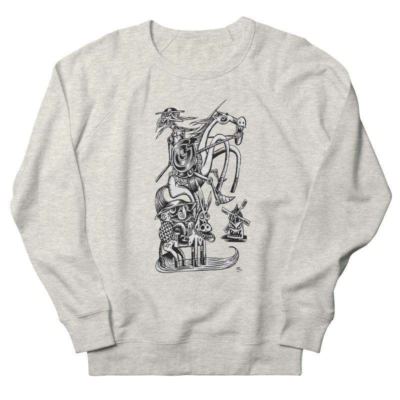 D quixote e sancho Men's Sweatshirt by irrthum's Shop