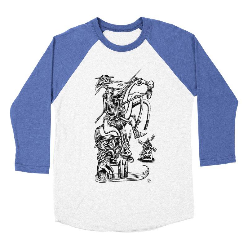 D quixote e sancho Women's Baseball Triblend T-Shirt by irrthum's Shop
