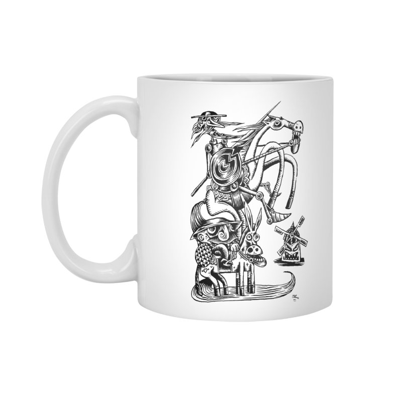 D quixote e sancho Accessories Mug by irrthum's Shop
