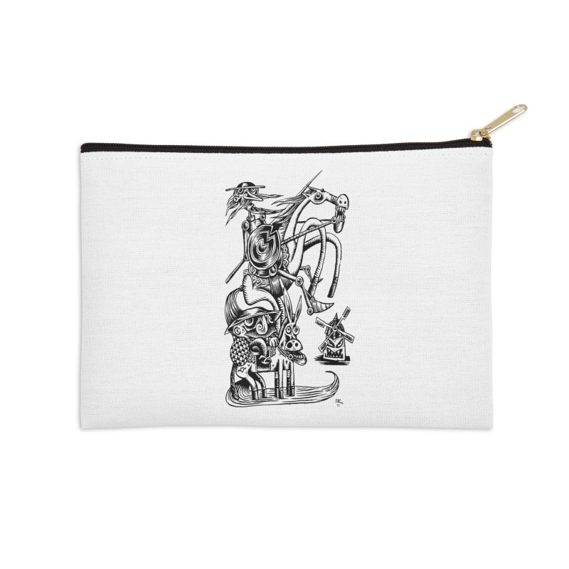 D quixote e sancho Accessories Zip Pouch by irrthum's Shop