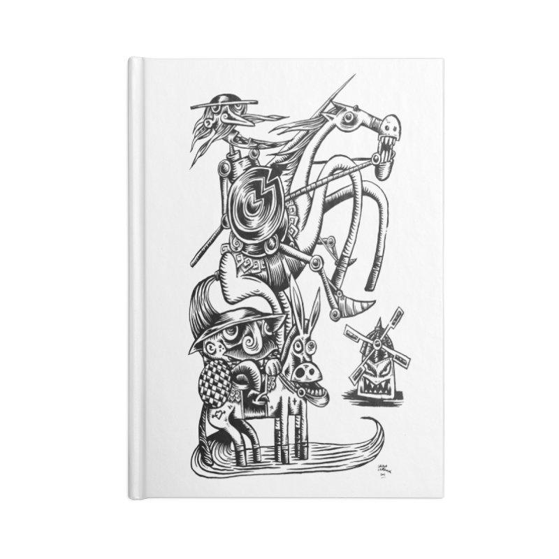 D quixote e sancho Accessories Notebook by irrthum's Shop