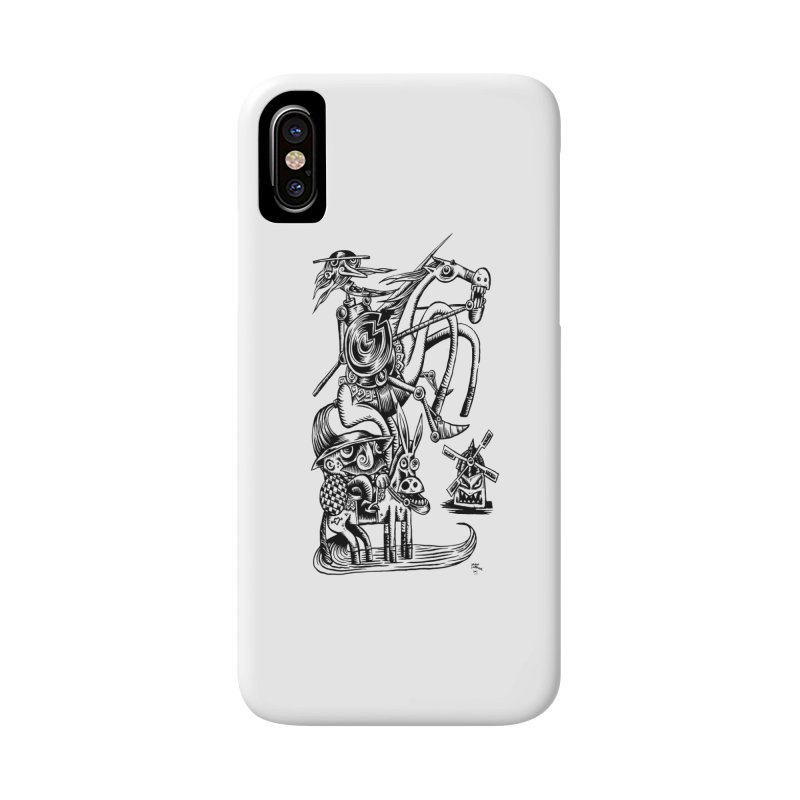 D quixote e sancho Accessories Phone Case by irrthum's Shop