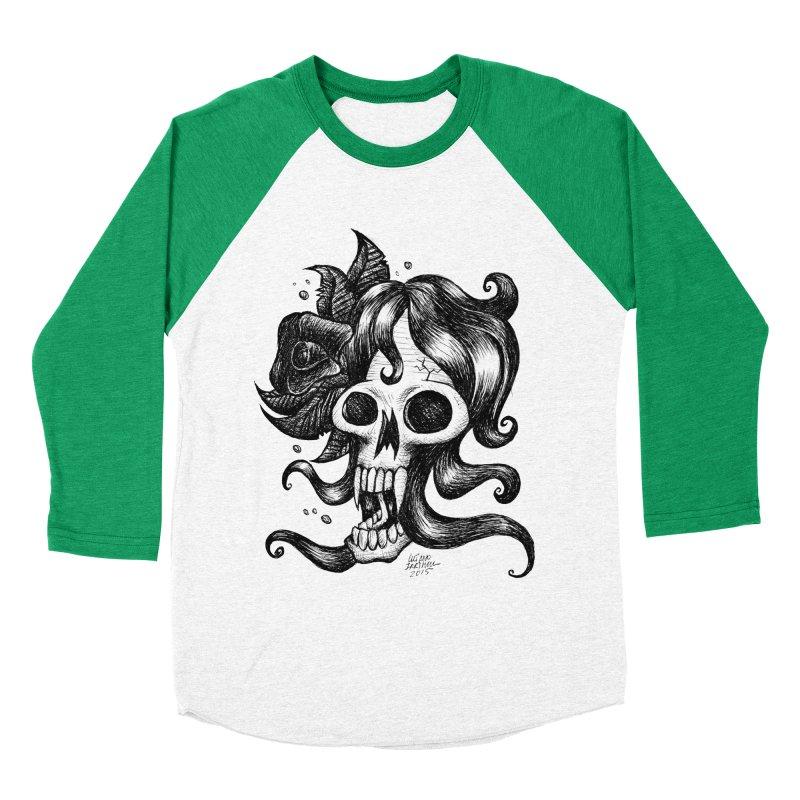 skull Women's Baseball Triblend T-Shirt by irrthum's Shop