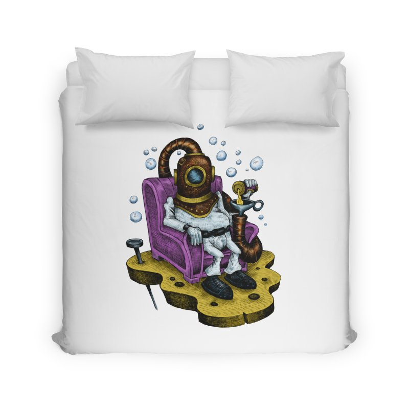 Strong man Home Duvet by irrthum's Shop